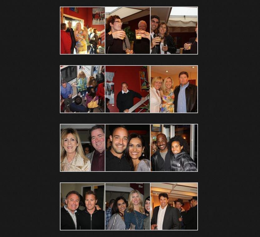 photos from the salona mar art event