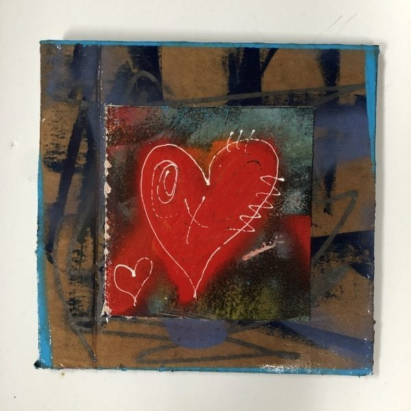Ann Golumbuk - Heart 2020 #11
